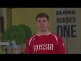 Чемпион мира по тяжелой атлетике Артём Иванов