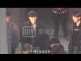 180105 EXO Lay Yixing @ Huang Bos 《一出好戏》Good Play Filming