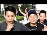 "Реакция корейцев на клип: ""Бродяга"" | Корейские парни Korean guys"