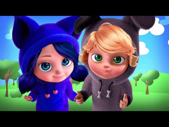 Marinette and Adrien turned into babies Sabrina and Alya on Party New Episode Miraculous Ladybug
