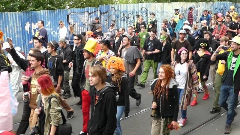 Альтернативный пражский карнавал DIY Katnaval (23.09.17).