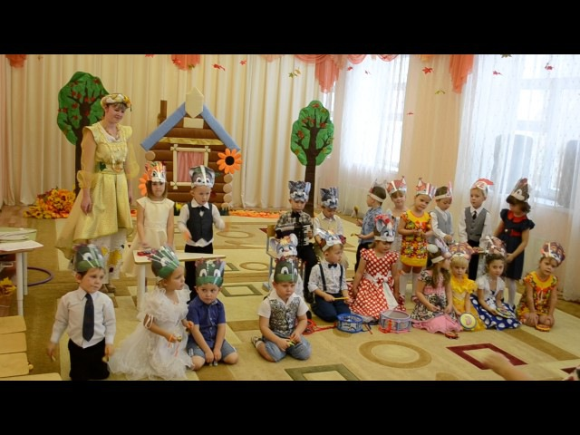 Супер Лесной оркестр. Детки средней группы детского сада Светлячок г. Салаир.