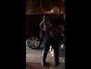 Лили покидает ночной клуб в компании Найла Хорана (21/09/17)