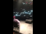 Lil Pump brought a fan in a wheelchair on stage w/ him