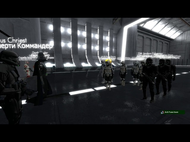 Вейдер задушил бойца.