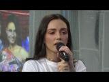 Ольга Серябкина из группы SEREBRO, пропустила свой куплет в песне