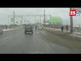 Вот так люди в Вологде переходят дорогу