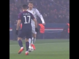 Сольный проход Роналду в матче против ПСЖ