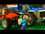ЛЕГО СИТИ Полиция и ЛЕГО НУБик Майнкрафт Мультики про Машинки LEGO Minecraft - Видео дл ...