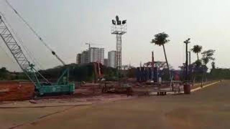 Progress pembangunan apartemen fatmawati city center tahap ke dua