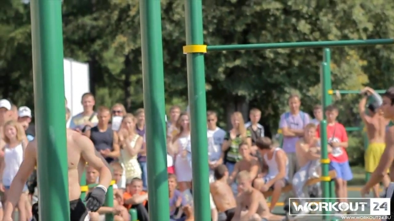 Workout Summer Session. 2012.Moscow.