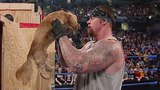 Big Show gives The Undertaker a puppy SmackDown, Feb. 20, 2003
