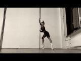 Exotic pole dance. Daria Che.