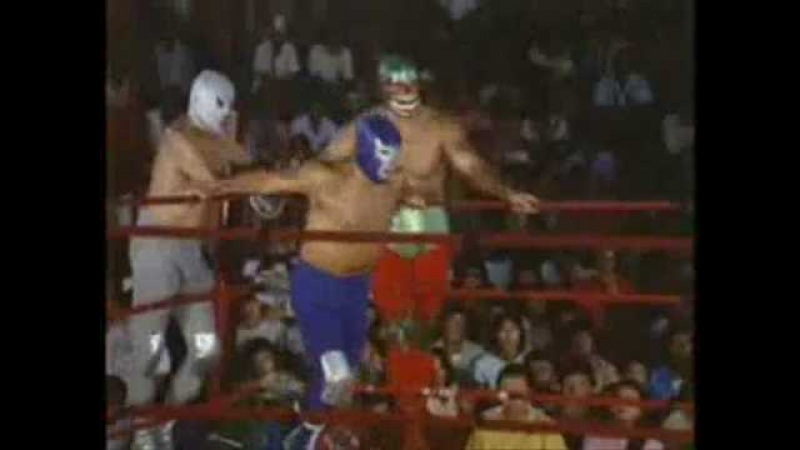 Mil Mascaras, Blue Demon El Santo