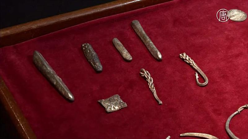 Британец нашёл клад викингов