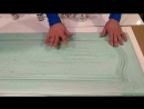Винтажные решения для кухни с помощью меловой краски fractal_paint с эффектом трещин