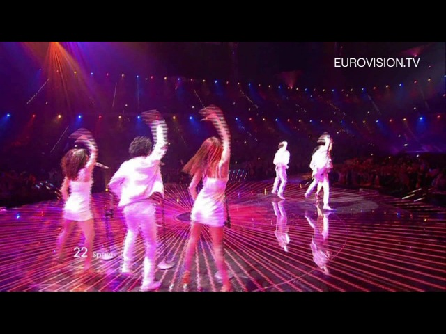 Lucía Pérez - Que Me Quiten Lo Bailao (Spain) - Live - 2011 Eurovision Song Contest Final