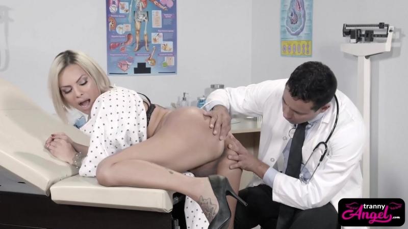 Amazing tranny babe Foxxy bang by lucky doctor (Красотки Shemale   Трансы TS Ladyboy Трапы Sissy Trap Crossdresser Tranny Porno)