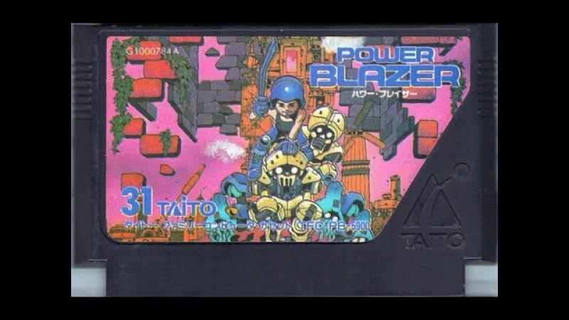 Power Blazer прохождение 100% | Игра на (Dendy, Nes, Famicom, 8 bit) Natsume Taito 1990 Стрим RUS