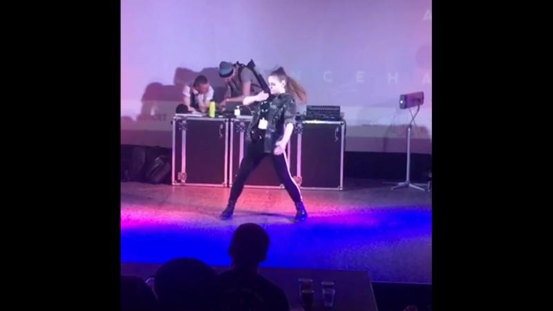 AOD QOT 2018 Odessa yana gyal choreo