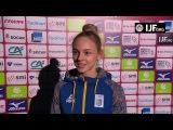 Daria BILODID (UKR) Winner Paris Grand Slam 18