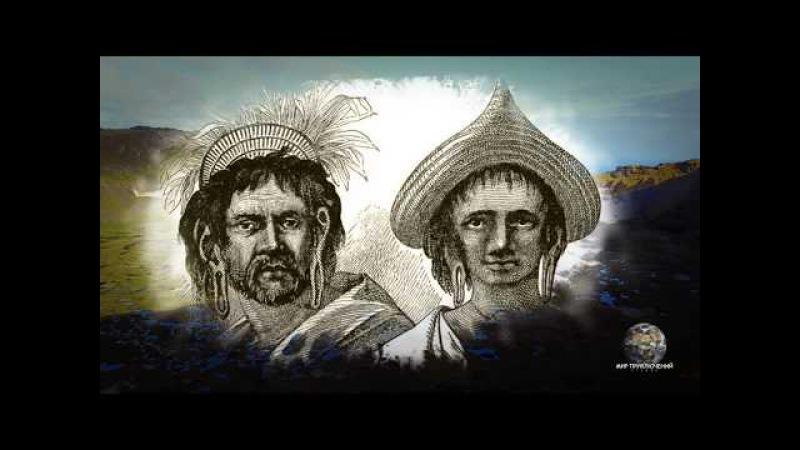 Мир Приключений - Фильм:Таинственный остров Пасхи. Каменные истуканы Моаи. Easter i...