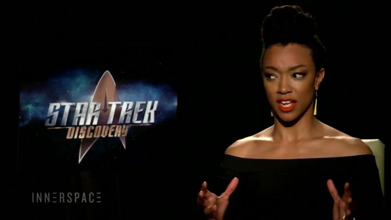 Звездный путь: Дискавери - (Star Trek: Discovery) - интервью Сонекуа Мартин-Грин