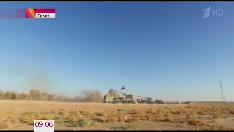 Сирийская армия преследует остатки формирований исламистов вокрестностях Акербата.