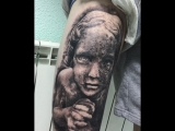 Tattoo girl Salah
