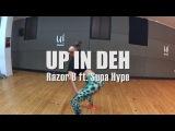 UP IN DEH - Razor B ft. Supa Hype Yohanna Almagro AfroDancehall Choreography