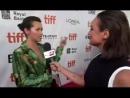 Amelia falando do Jamie numa entrevista no TIFF.