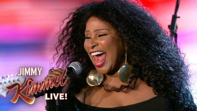 Chaka Khan - I'm Every Woman (Jimmy Kimmel Live)