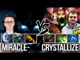 Liquid vs NaVi Carry Battle - EPIC Game Miracle TB vs Crystallize Dusa - Dota 2