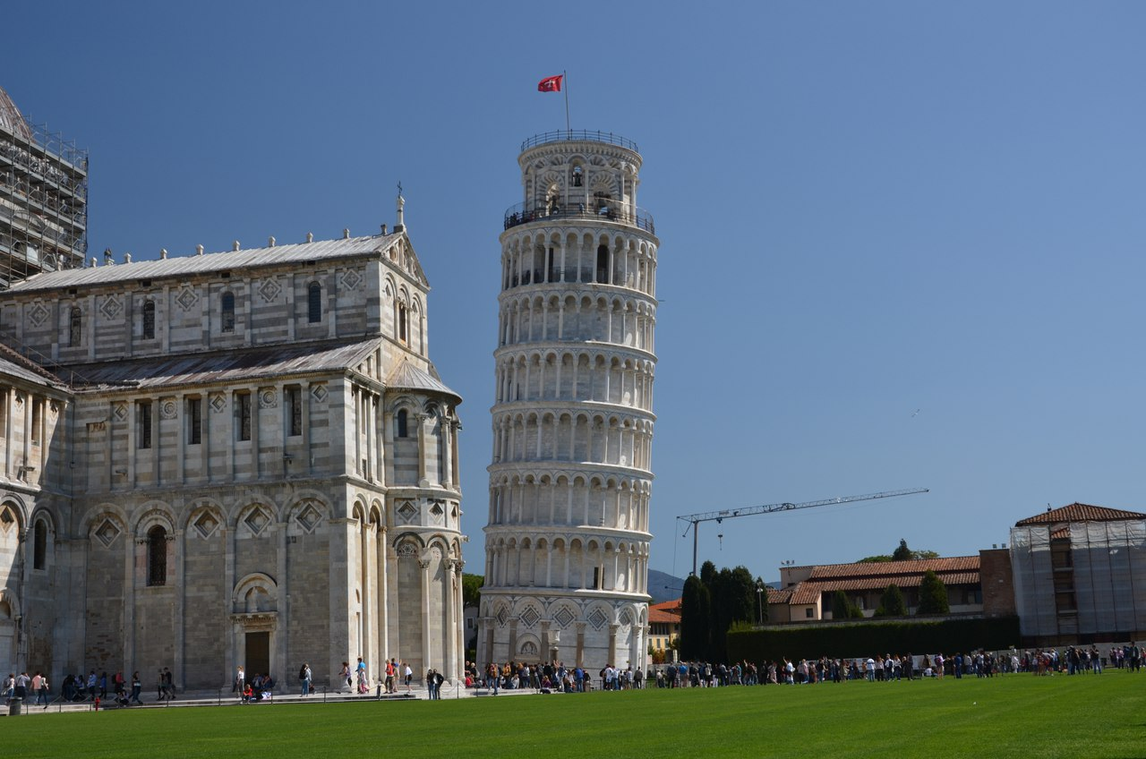 gmV87lxxWKw Пиза - Падающая башня и не только...