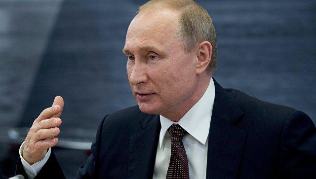 Путин обратился к Диас-Канелю