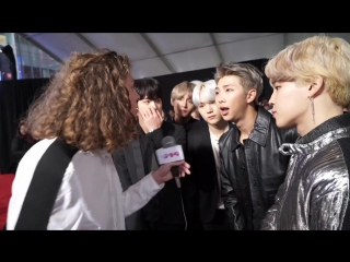 """171121 BTS Tells J-14 Why """"Love Yourself"""" Is Such an Important Message to Them"""