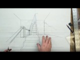 FORMAL LINEAR PERSPECTIVE: SECTION TWO END: Exercise 24