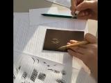 Мастер-класс по каллиграфии