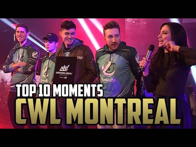 TOP 10 Moments at CWL MONTREAL 2017 Northern Arena Showdown