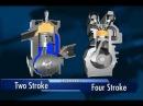 Как работает двухтактный и четырехтактный двигатель