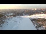 Уктус. Сноубордисты. Аэротруба. Екатеринбург с высоты Xiaomi Mi drone 4k