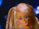 "Glitter Hair Barbie Doll 1993. MATTEL Commercial 1994. Старая реклама куклы Барби ""Блестящие Волосы"""