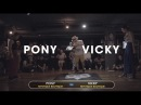 PONY vs VICKY / Waacking 4-1 / South Side Session Vol9 / Korea Qualifier