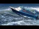 ►Большие Корабли в ШТОРМ в Океане Гигантские ВОЛНЫ МОНСТРЫ Сильный ШТОРМ