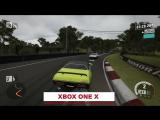 Сравнение графики Forza Motorsport 7 на Xbox One S и Xbox One X.