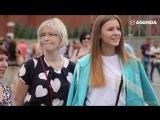 Флэшмоб — гимн России на Красной площади