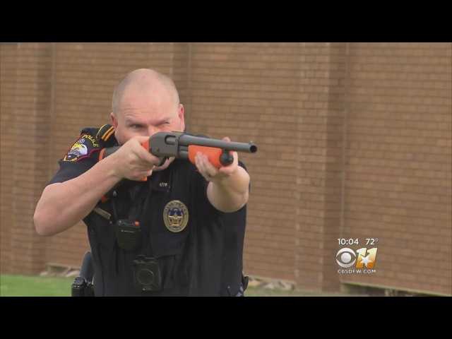 Police Hope To Save Lives Using 'Less Lethal' Gun