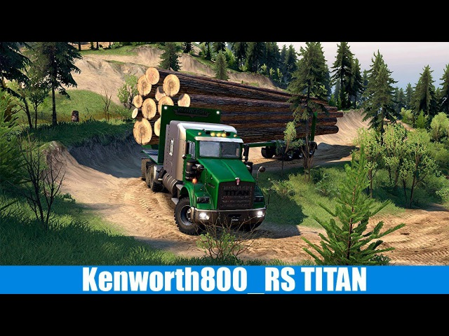 Spin Tires Kenworth800 RS TITAN