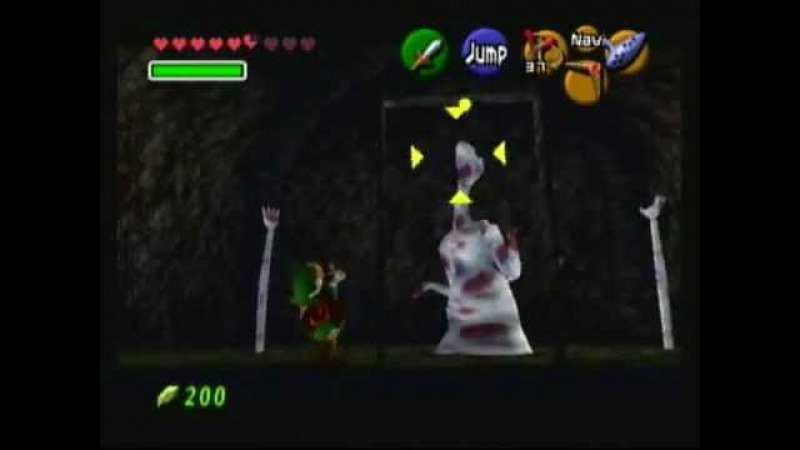 Ocarina of Time - Mini Boss - Dead Hand (Bottom of the Well)