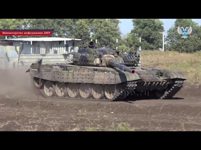 В Республике завершился первый этап танкового биатлона